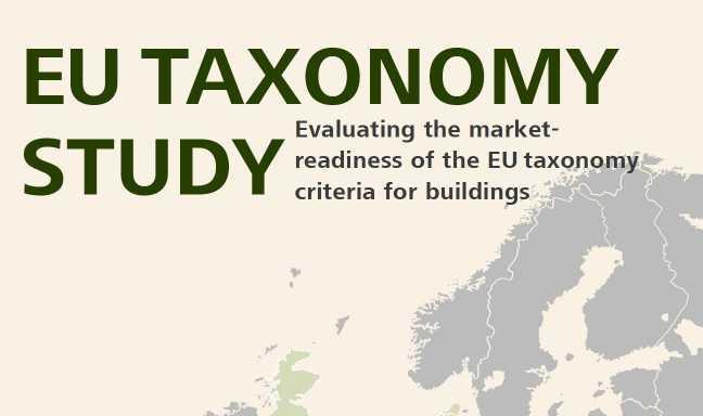 Átfogó kutatás az EU Taxonómia építőipari alkalmazhatóságáról