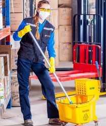 Tisztaság az egészséges munkahelyekért