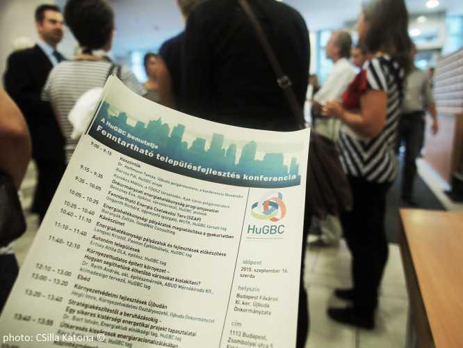 Fenntartható településfejlesztés konferencia