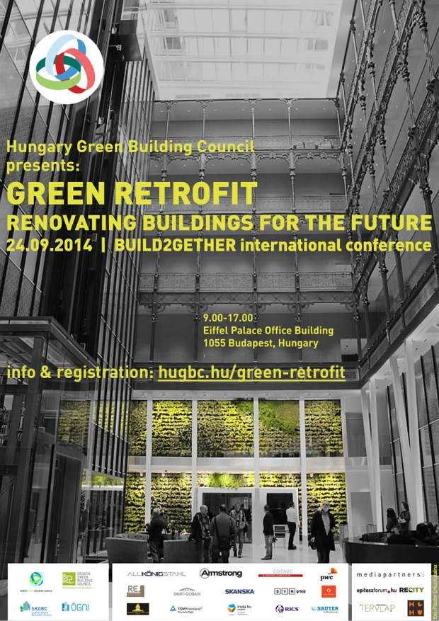 Build2Gether Green Retrofit konferencia